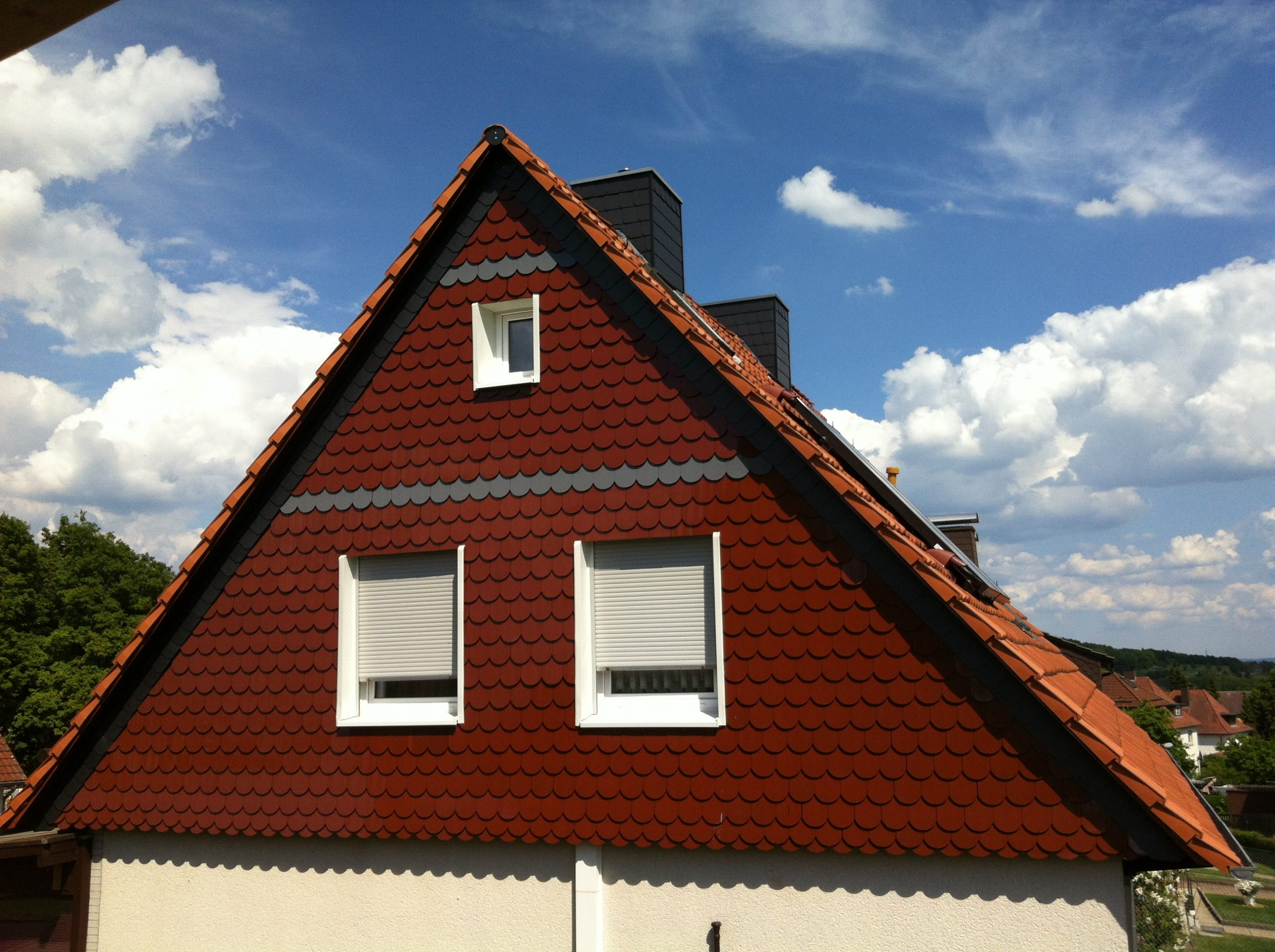 Biberschwanzfassade