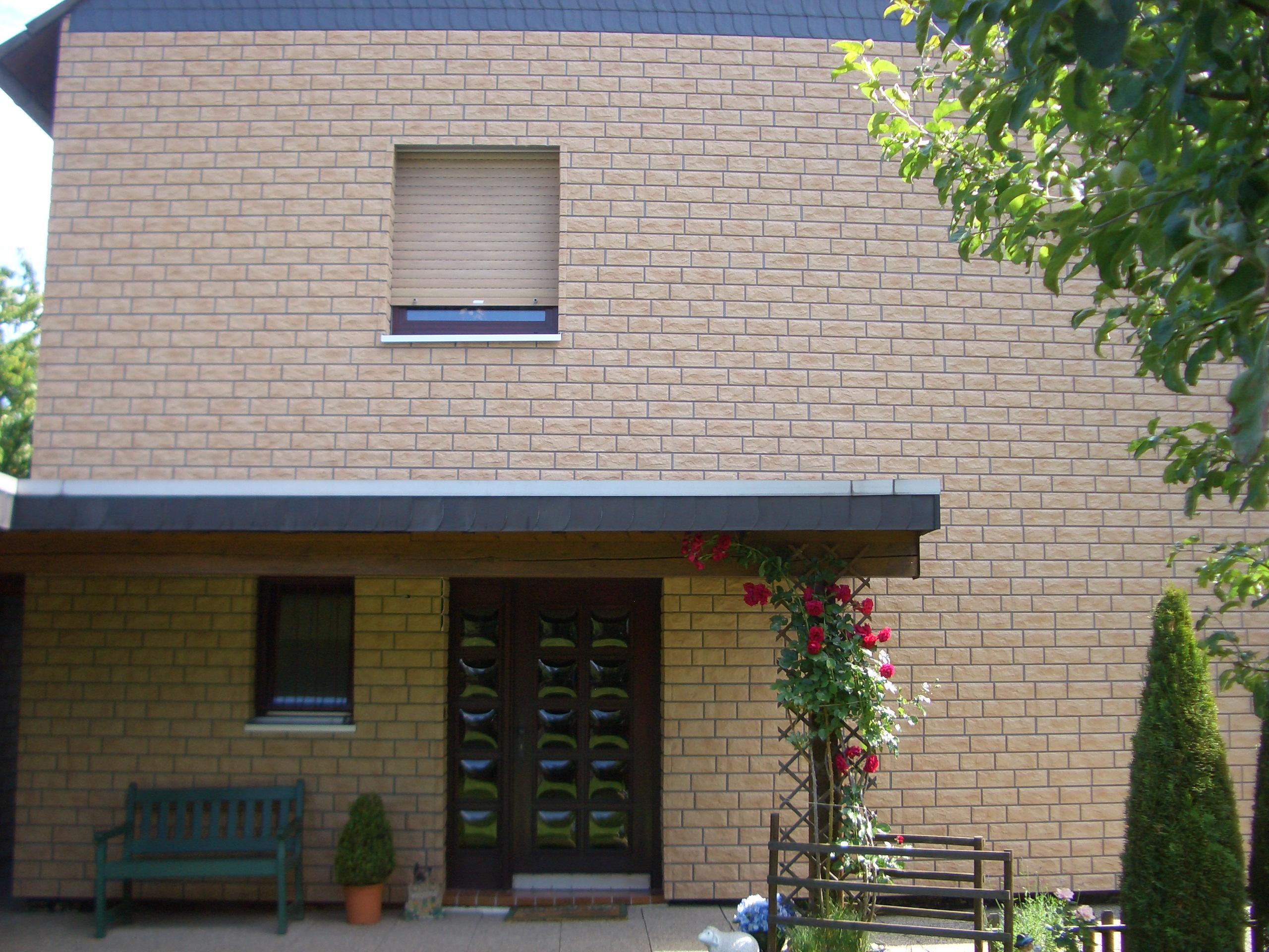 Fassadenelemente Klinker
